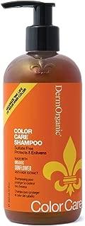 DermOrganic Color Care Shampoo with Sunflower Anti-Fade Extract - Sulfate-Free, 12 fl.oz.