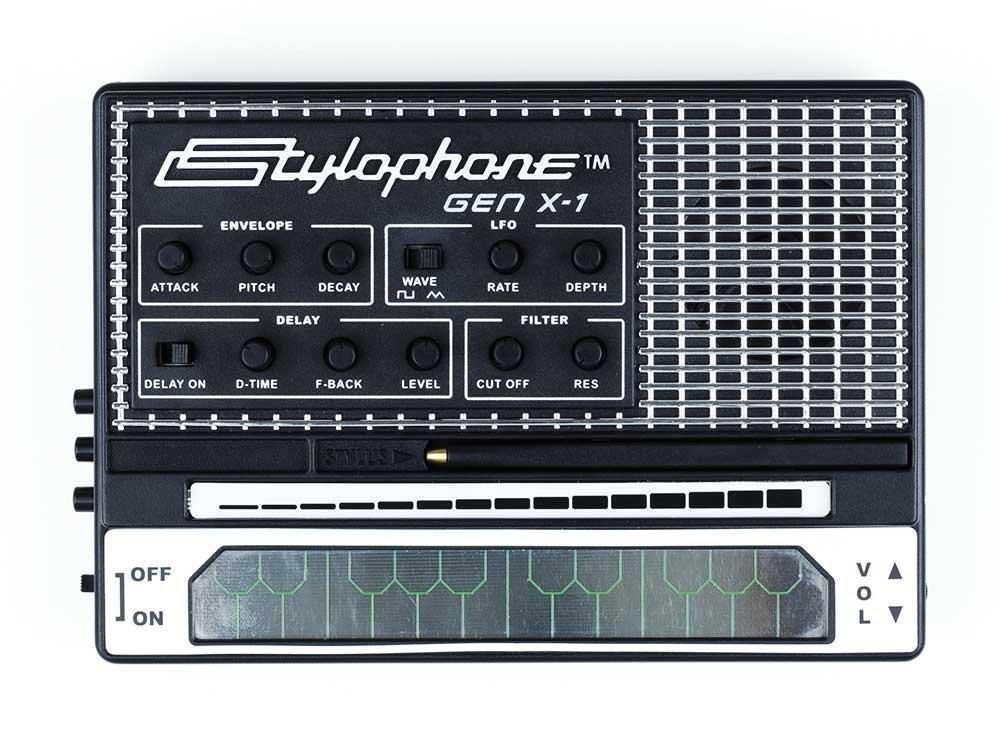 STYLOPHONE Portable Analog Synthesizer Built