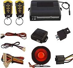 $24 » Car Security Alam Keyless Entry System with 2 Remote Controls & Siren Sensor, 12V Universal Remote Auto Door Lock/Unlock &...