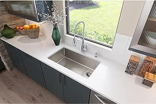 Elkay ECTRU30179RT Crosstown Single Bowl Undermount Stainless Steel Sink