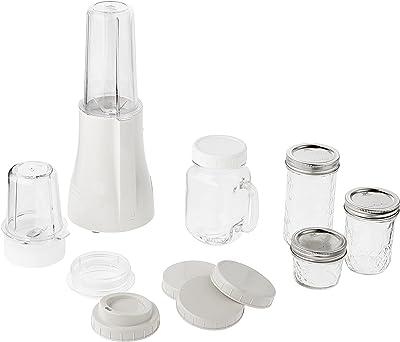 Tribest PB-350 Mason Jar Personal Portable Blender White, Large