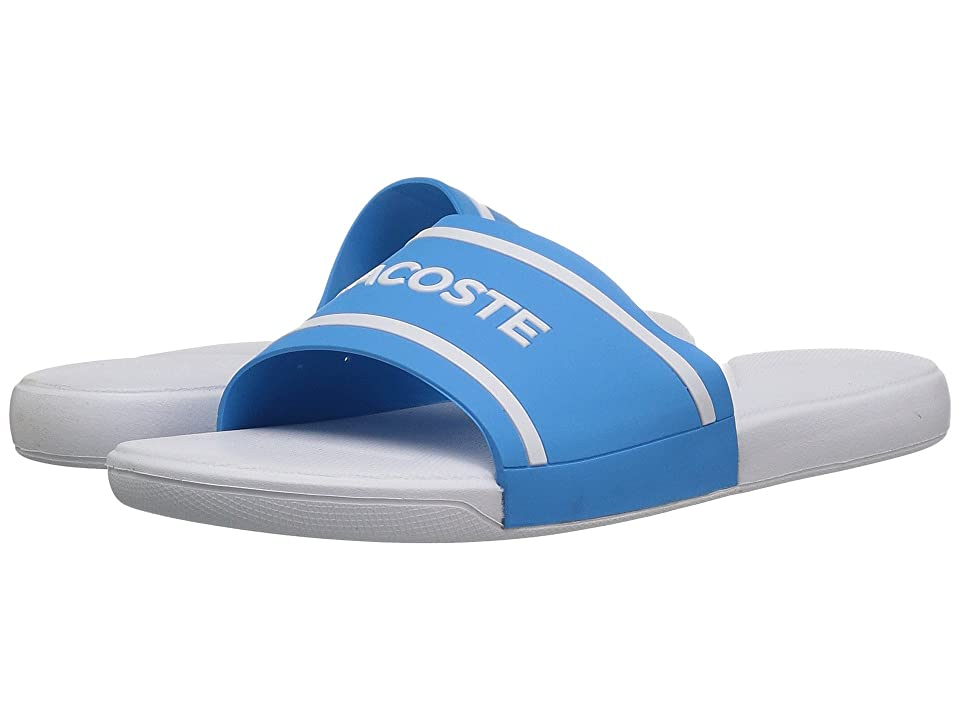 Lacoste Kids L.30 118 2 (Little Kid/Big Kid) (Blue/White) Kid