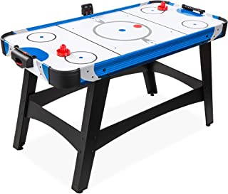 Best Choice Products 58in Mid-Size Arcade Style Air Hockey Table for Game Room, Home, Office w/ 2 Pucks, 2 Pushers, Digita...