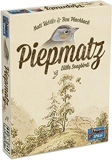 Lookout Games 22160098piepmatz–Little Song Birds, Juego de cartas para toda la familia de Matt Riddle–Funda y Ben pinchback, Beige , color/modelo surtido