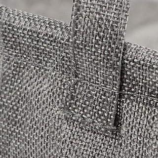 MJY Paniers à linge, Boîte de rangement de paniers à linge pliable gris Bacs Vêtements Articles divers Organisateur de mai...