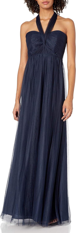 Jenny Yoo Women's Annabelle Convertible Tulle Column Dress