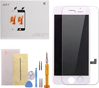 iPhone 7 Plus Screen Replacement DRT LCD Screen Touch Digitizer Display Frame Assembly Replacement Parts Kit and Repair Tools for iPhone 7 Plus 5.5 Inch White (Free Super Quality Aluminum Alloy Screwdriver Set)
