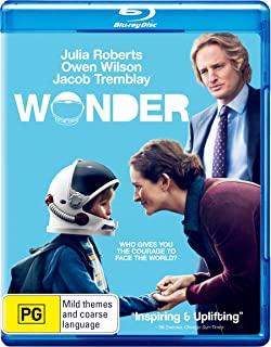 Wonder   Julia Roberts, Owen Wilson, Jacob Tremblay   NON-USA Format   Region B Import - Australia