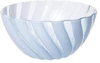 Safir Durable Plastic Salad Mixing Bowl, All Purpose Food Prep and Serving Bowl, Small, 1.6 Lt (Blue)