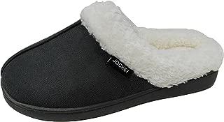 Women's Lenore Cozy Plush Faux Shearling Memory Foam Clog Slipper (X-Large / 11 B(M) US, Grey)