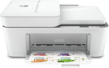 HP DeskJet Plus 4155 Wireless All-in-One Printer, Mobile Print, Scan & Copy, HP Instant Ink Ready, Auto Document Feeder, Work