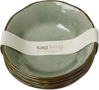Quest TAG Veranda Melamine Bowl Set of 4 Slate Blue