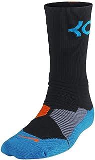 featured product Nike Men's Hyper Elite Kevin Durant Black/Photo Blue/Team Orange Socks