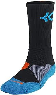 Men's Hyper Elite Kevin Durant Black/Photo Blue/Team Orange Socks