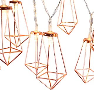 rose gold wire fairy lights