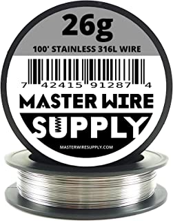 Stainless Steel 316L - 100' - 26 Gauge Wire