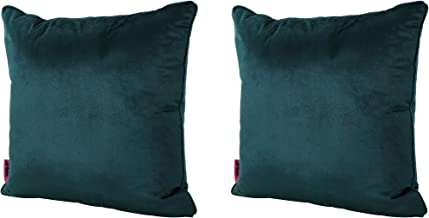 Christopher Knight Home Velvin New Velvet Throw Pillow (Set of 2) (Teal), 15.00 in. deep x 15.00 in. Wide x 6.30 in. high