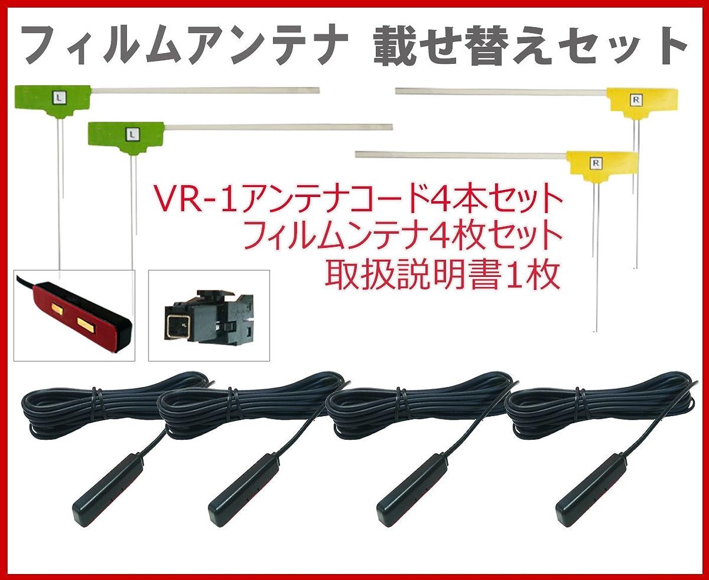 放置生きている腕《Jn712》地デジ 高感度 フィルムアンテナ ケンウッド?KENWOOD【MDV-Z704W?MDV-Z904?MDV-Z904W?MDV-L502?MDV-D502BT】対応 4枚 4本set フルセグ VR1