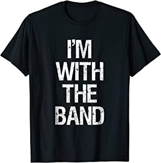 i m with the band shirt