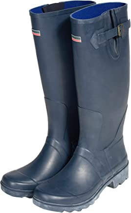 Town & Country Size 3/ EU 36 Premium Wellington Boots - Navy