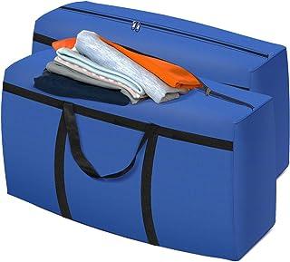 Essort Sac de Rangement Déménagement - 162L Grand Sac de Rangement pour Vêtements pour Ranger Les Vêtements Literie en Voy...