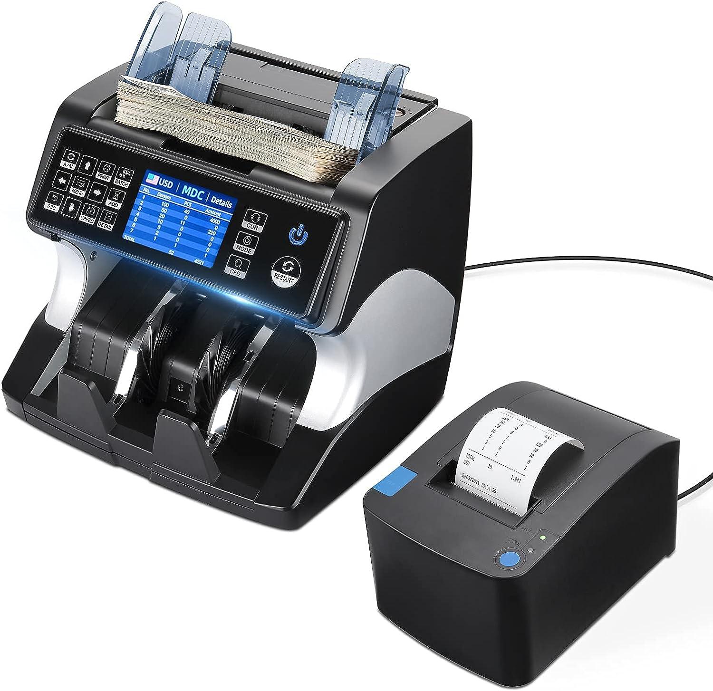 Printer and IMC01-BK Money Machine trend rank Mixed Surprise price Denomination Counter