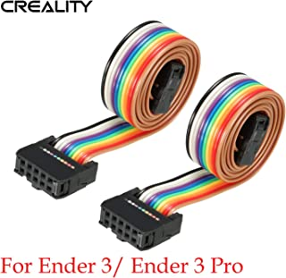 Creality 10 Pin Flexible Flat Ribbon Cable for LCD Screen Cable 3D Printer Ender 3 Ender 3 Pro Reprap Mendel Prusa I3 Soft Wire