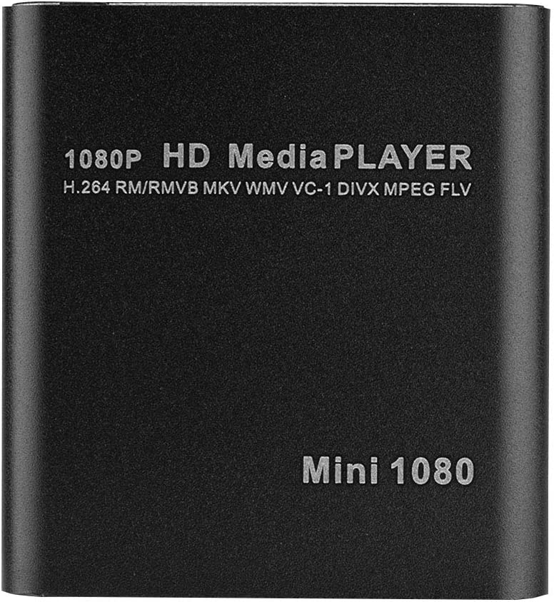 Shipenophy Converter, A Home Theatre Effect VGA Media Player 1080P Videos and Images Output Media Player Center for Home for Movie Lovers(U.S. regulations)