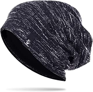 Knit Cap for Women Winter Summer Slouchy Beanie Hat Stylish Skull Cap B413
