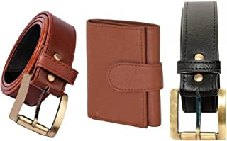 MUNDKAR Belt & Wallet Combo (Offer_08)