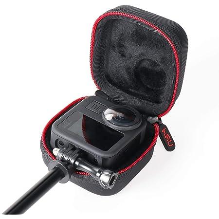 HSU Portable Mini Action Camera Case Case Case Case Shell Portable Pocket Bag Compatible avec GoPro Max