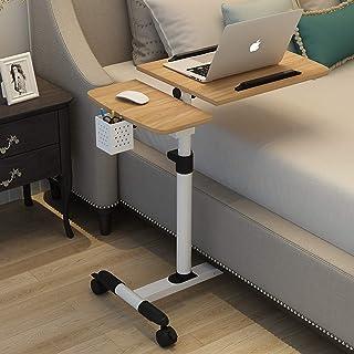 طاولة كمبيوتر محمولة قابلة للطي، مكتب كمبيوتر محمول قابل للدوران مع حامل قلم، مكتب واقف للأثاث المنزلي للسرير مساحة صغيرة ...
