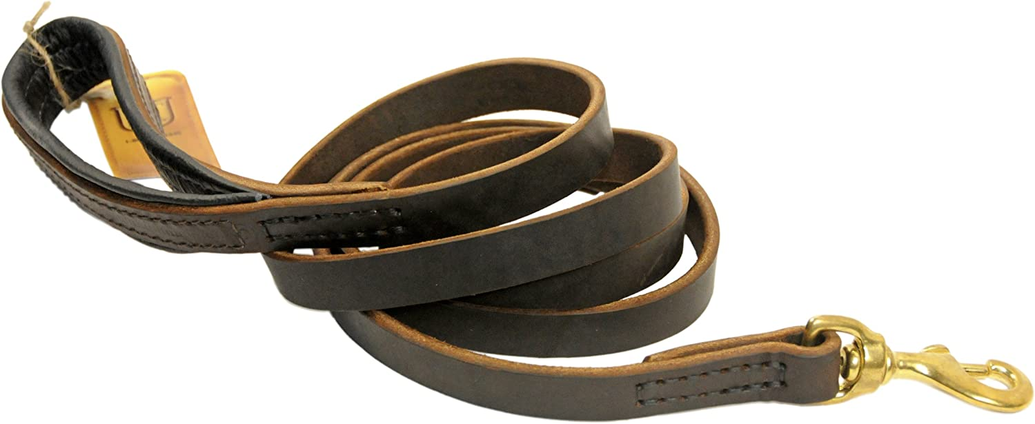 Dean and Tyler Soft Touch Dog Leash Limited time trial price by Wi 3 2-Feet Brown 4-Inch Oakland Mall