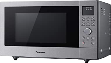 Panasonic NN-CD58 Microondas, 1000 W, 27 litros, acero inoxidable