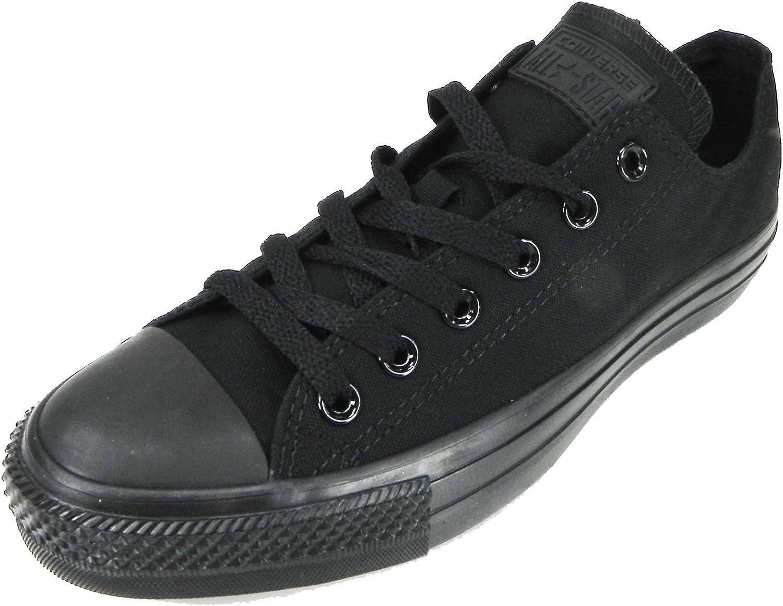 Converse Men's All Star Lo Top Monochrome Black shoes M5039 (12)