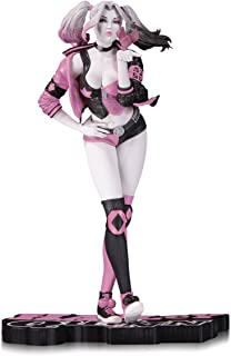 DC Collectibles Harley Quinn Pink, White & Black: Valentine's Variant by Stanley Artgerm Lau Resin Statue