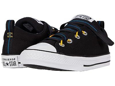 Converse Kids Chuck Taylor(r) All Star(r) Z-Street (Little Kid/Big Kid) (Black/Coast/White) Boy