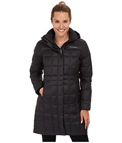 Columbia Hexbreakertm Long Down Jacket (Black) Women