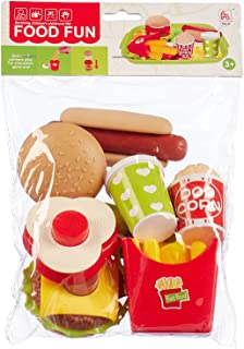 Food Fun Playset for Kids - 9 Pieces, A270