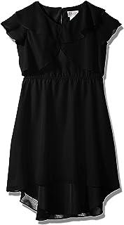 فستان بناتي بكشكشة أمامية كبيرة من Blush by Us Angels