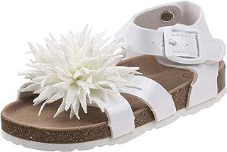 Laura Ashley Girls Pointed Flower Sandal (Toddler/Little Kid)
