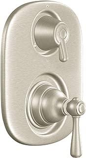 Moen T4111BN Kingsley Moentrol Shower Valve with 3-Function Integrated Diverter Valve Trim, Valve Required, Brushed Nickel
