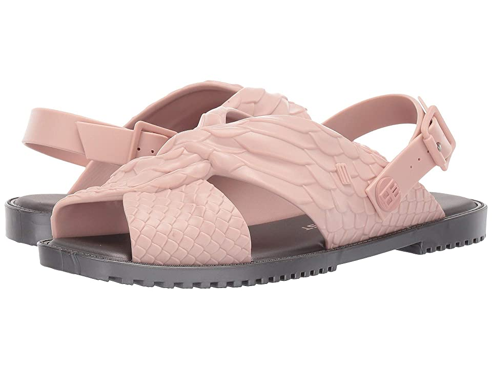 + Melissa Luxury Shoes Baja East + Sauce Flat Sandal (Light Pink/Black) Women