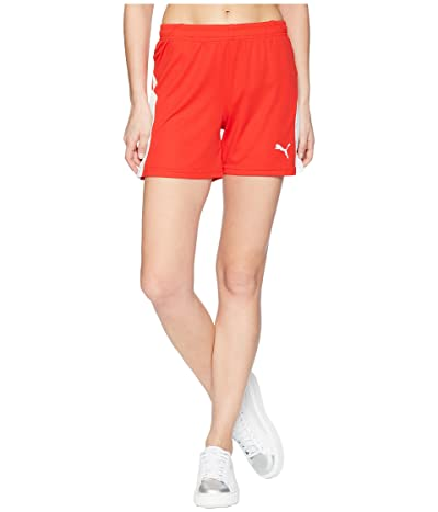 PUMA Liga Shorts (Puma Red/Puma White) Women