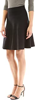 Women Fit and Flare Knit Sweater Skirt