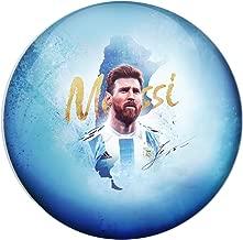 AVI Pin Badges with Argentina Football Player Lionel Messi Design 6cm