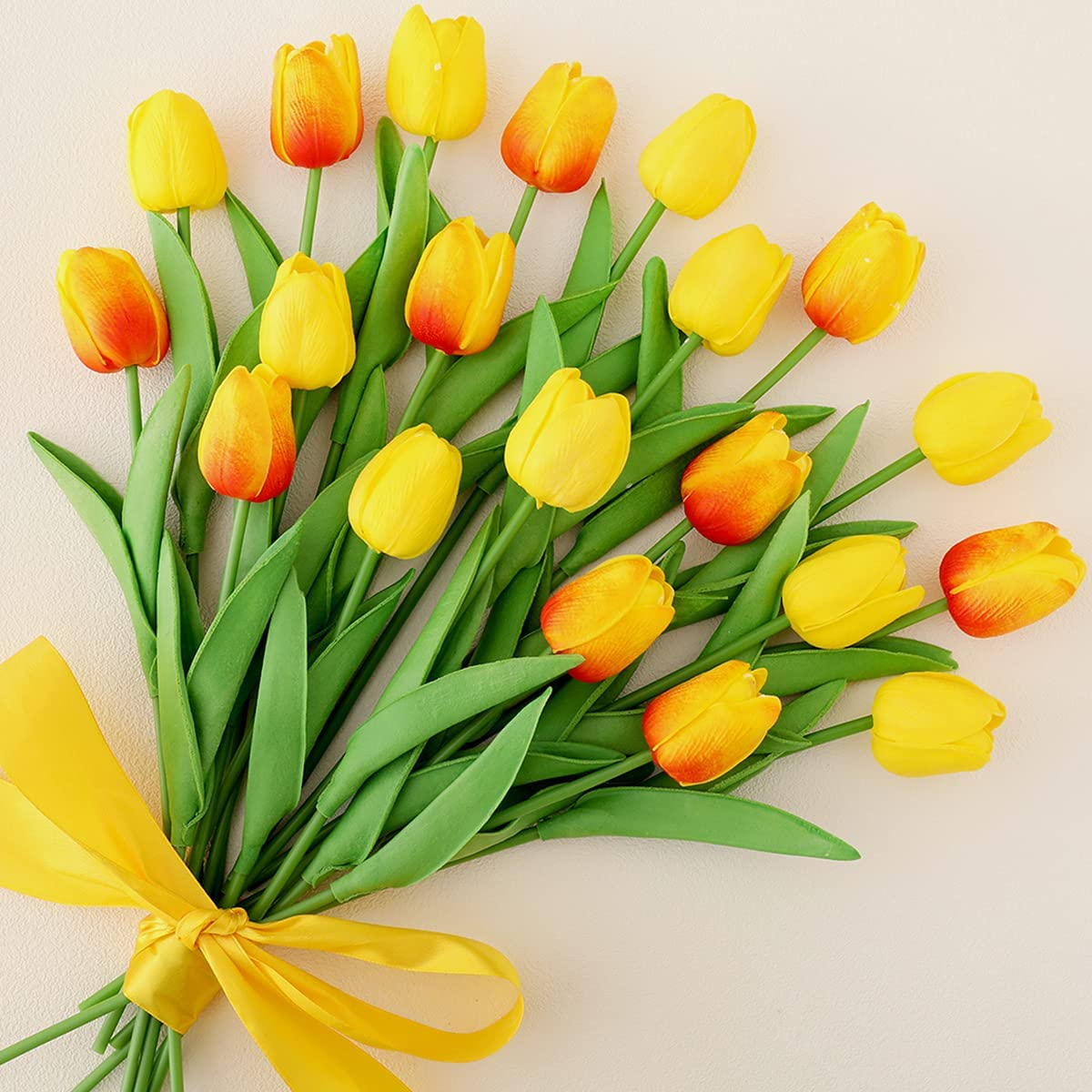 Cloudecor Discount mail order unisex 20Pcs Artificial Tulips Flowers Touch Real