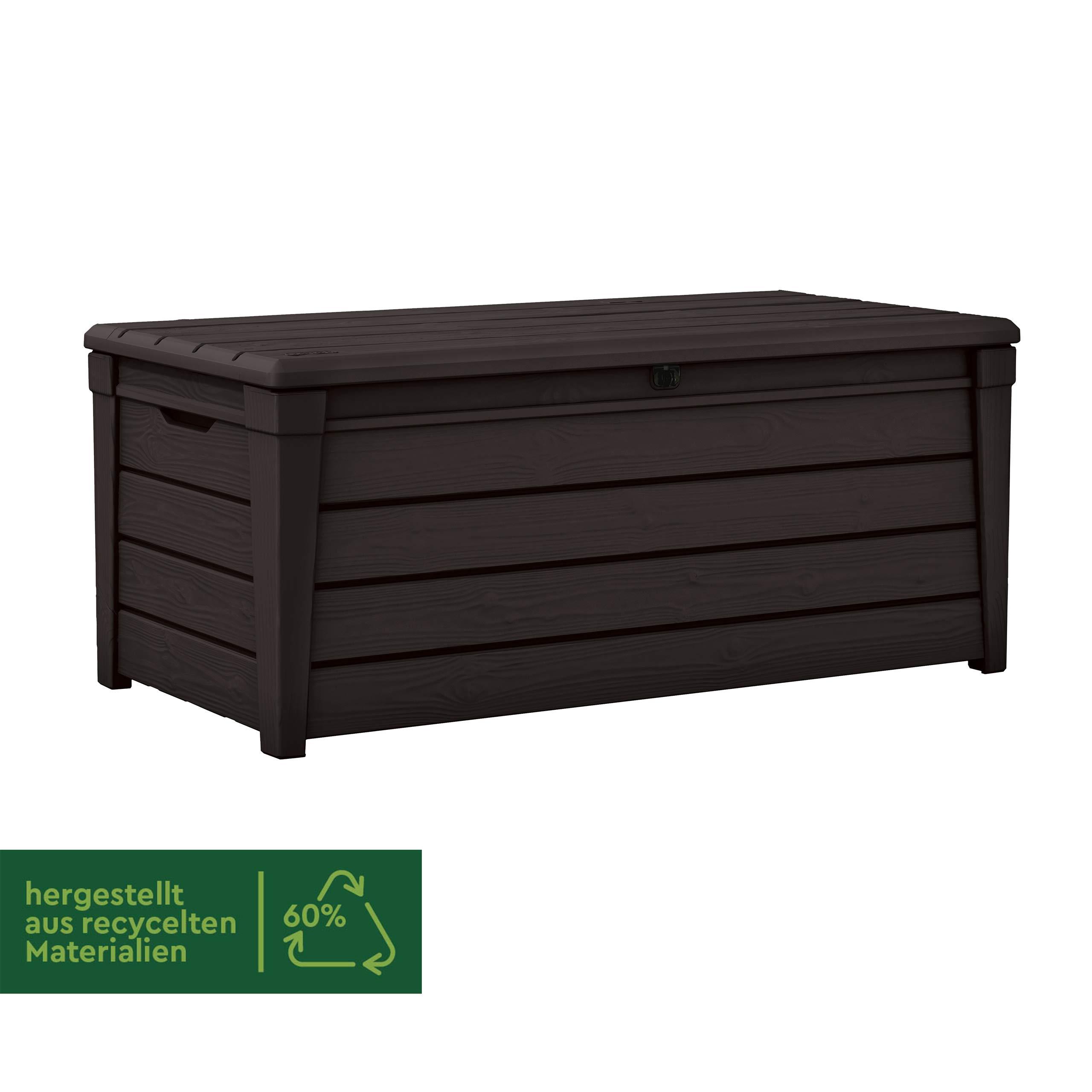 Keter Caja de almacenaje Brightwood: Amazon.es: Jardín