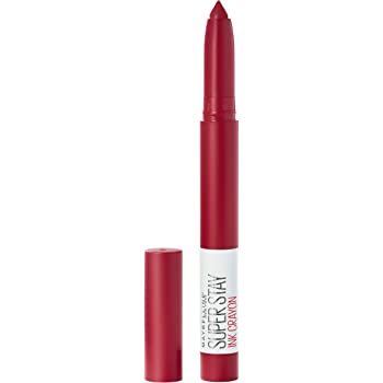 Maybelline SuperStay Ink Crayon Lipstick, Matte Longwear Lipstick Makeup, Own Your Empire