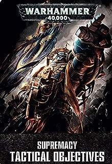 Supremacy Tactical Objectives (pre-order 27/2) Games Workshop Warhammer 40k